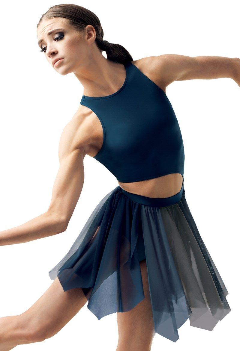 e04908eab Two Tone Handkerchief Hem Dance Dress | Balera™ | Dance costumes in ...
