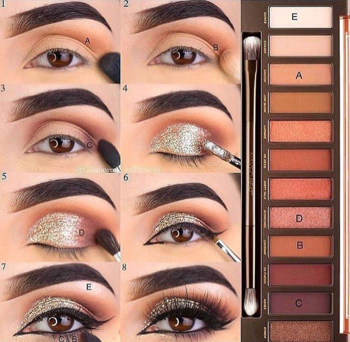 46+ super ideas for eye shadow makeup urban decay #makeup