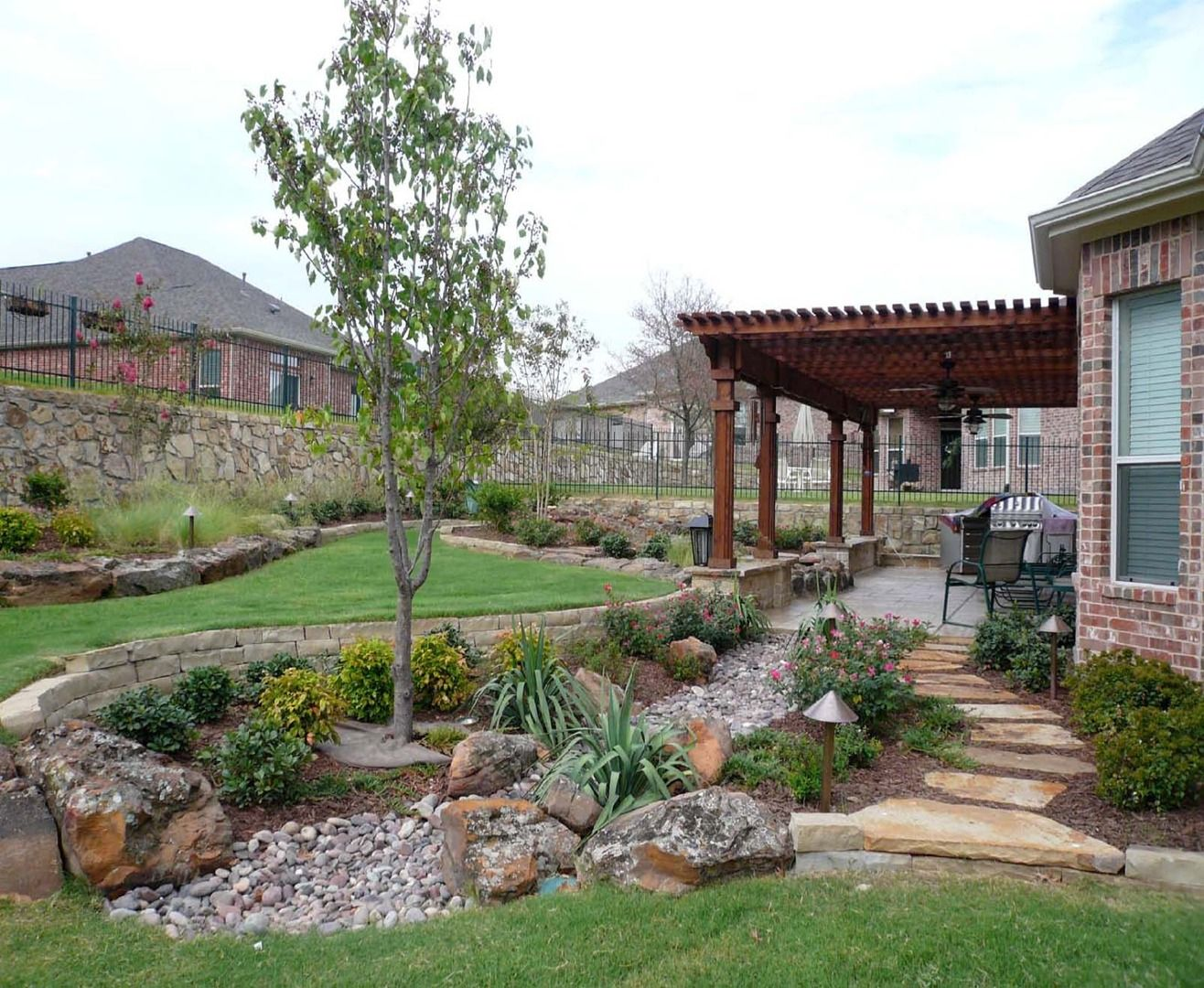 creative backyards of west texas in lubbock tx for the home