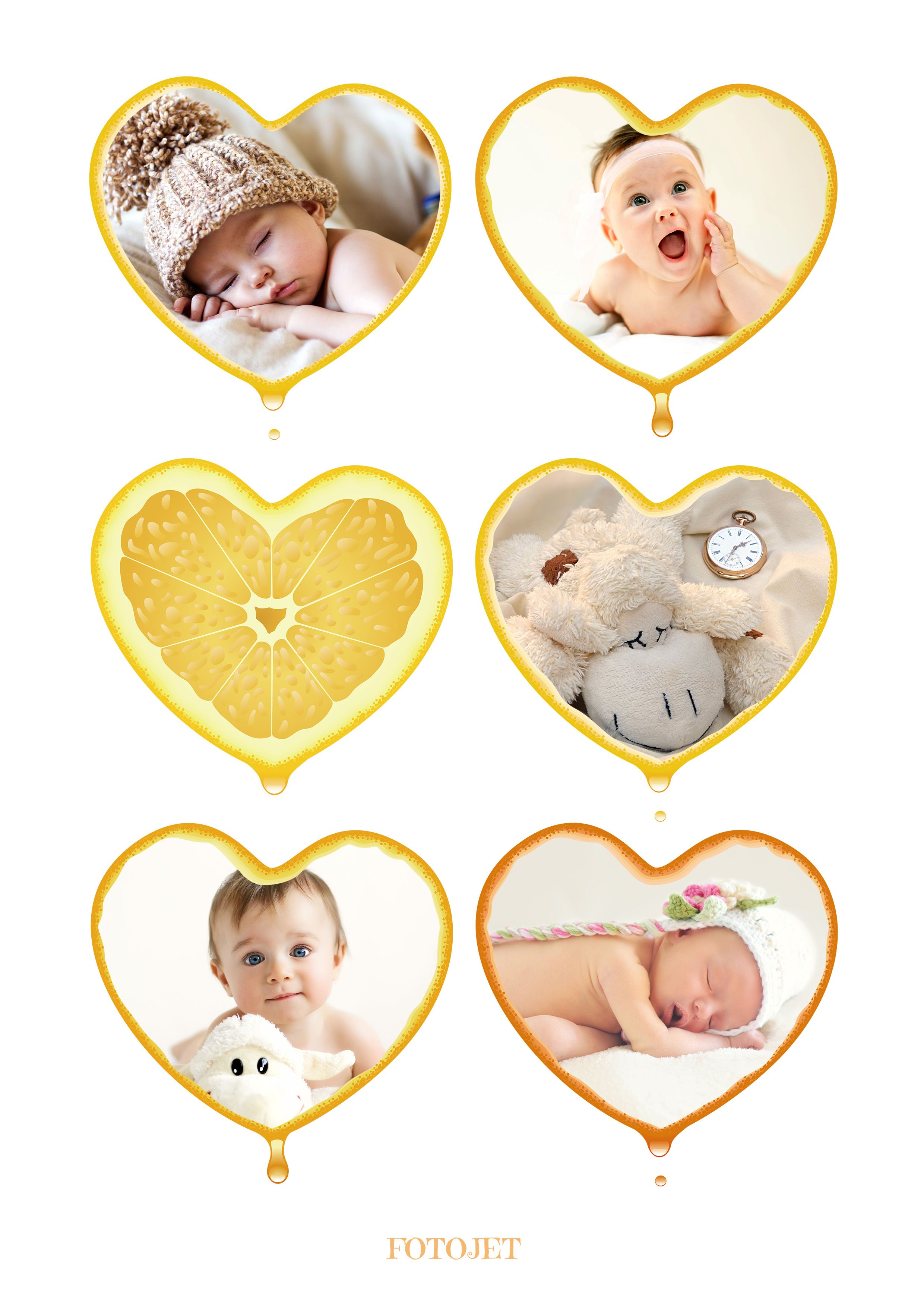 Baby Maker Free Online : maker, online, #babycollage, Creative, Record, Growth., Www.fotojet.com, Photo, Collages,, Collage,, Photos
