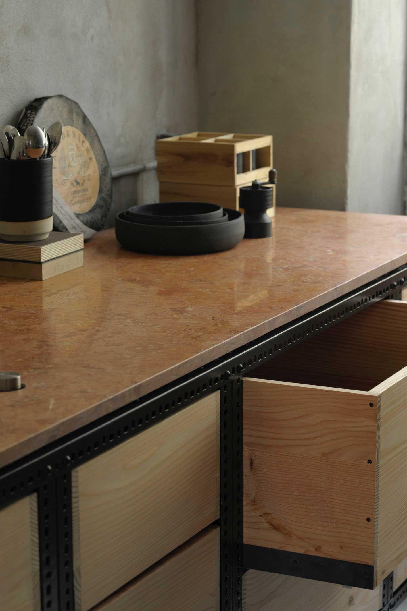 frama copenhagen studio kitchen steel frame and marbles frama copenhagen studio kitchenspace kitchenopen kitchendesign
