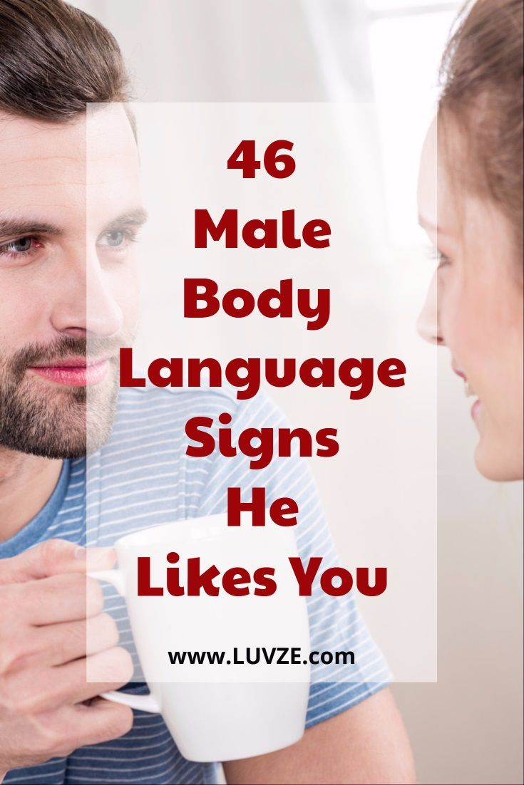 Body language when a man is attracted to you