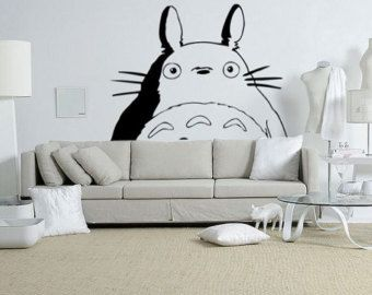 Delicieux Giant Totoro Wall Sticker Via