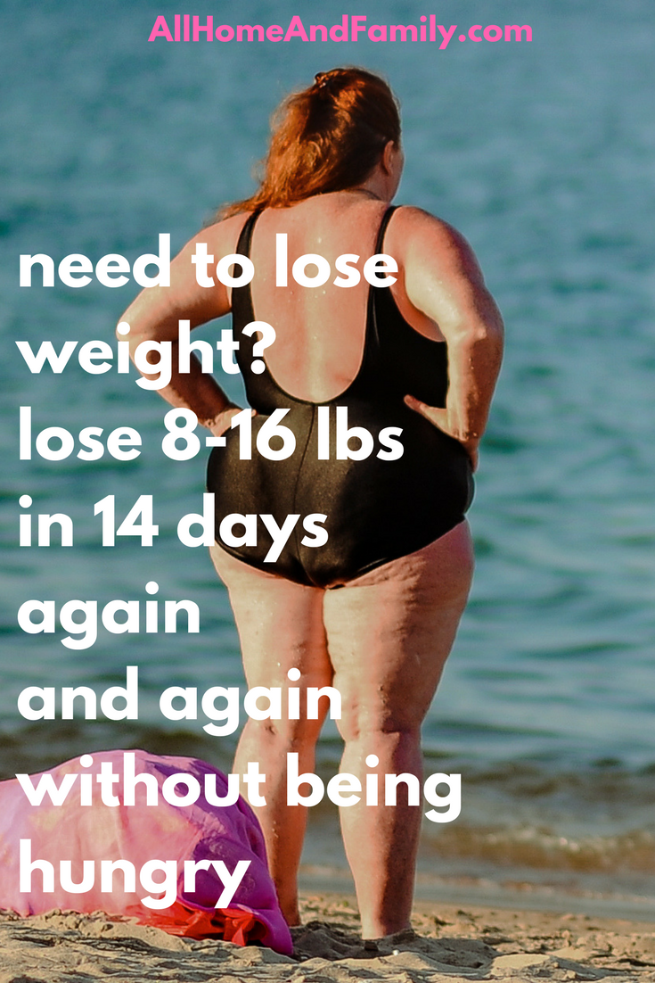 How To Lose Weight In Two Weeks Naturally Far Faster Than You Ever