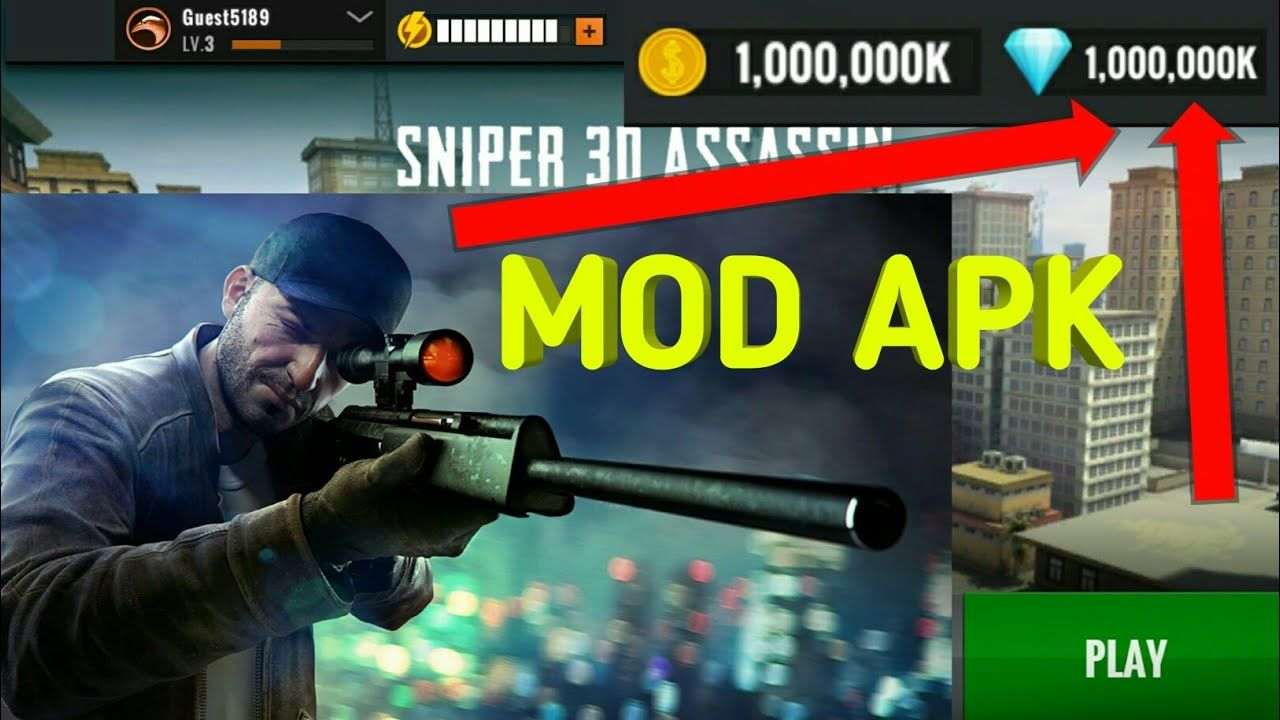 sniper 3d assassin mod apk old version