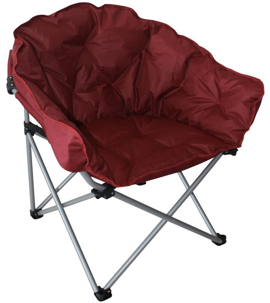 Padded Club Chair Camping Pinterest
