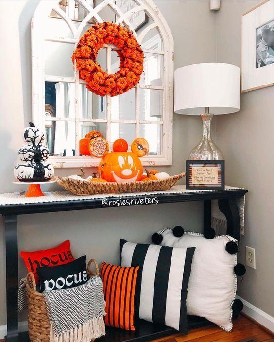 100+ günstige DIY Dollar Store Halloween Deko Ideen, um Ihre Gäste zu erschrecken #halloweendecorations