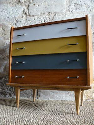 Commode années 60 - mai.b.store | vintage love | Pinterest | Mid ...