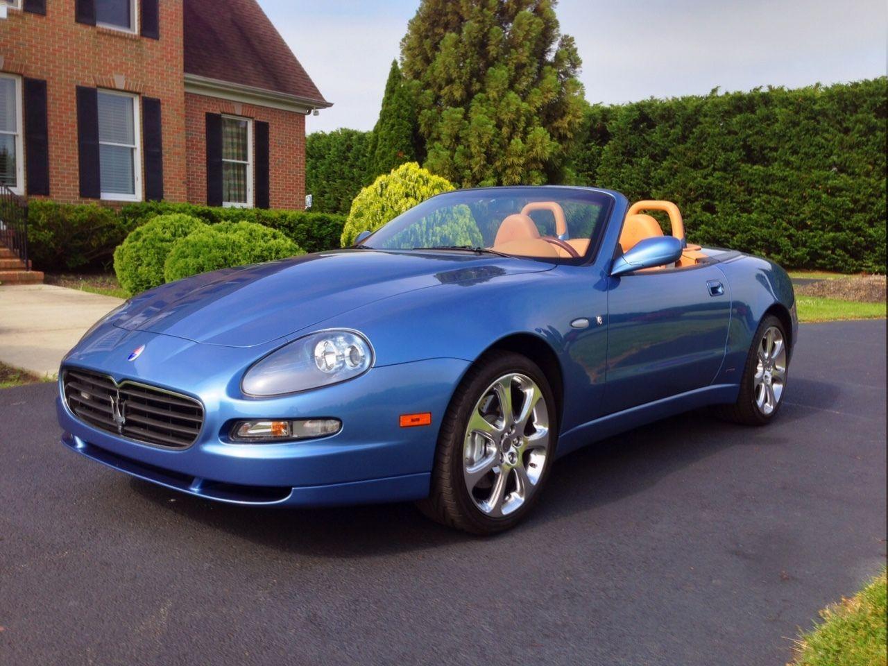 2005 Maserati Spyder | Italian cars for sale | Pinterest | Maserati ...