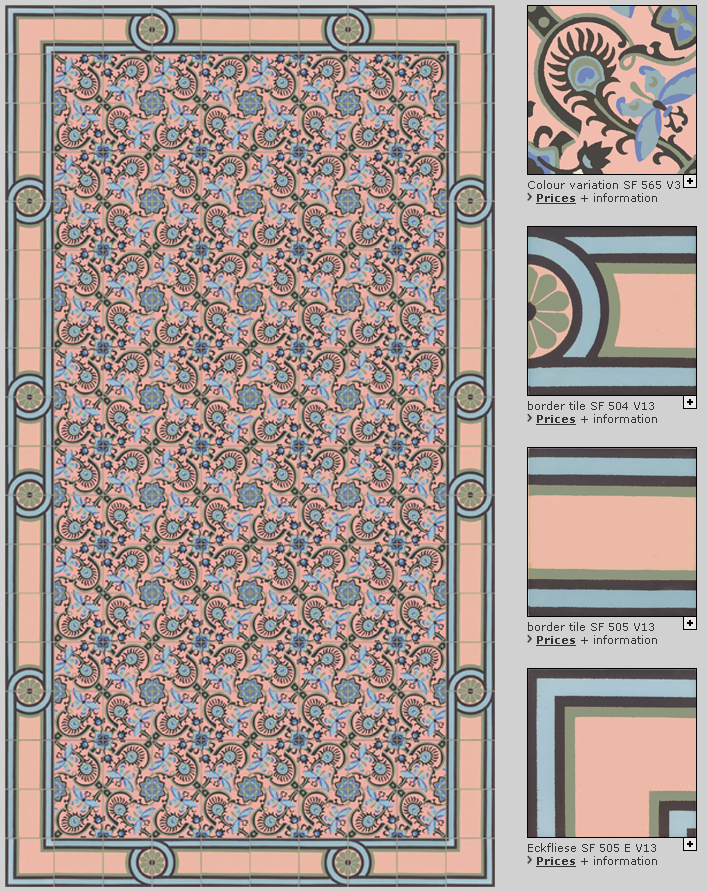 GOLEM Art Nouveau tiles - For further information about our handmade ...