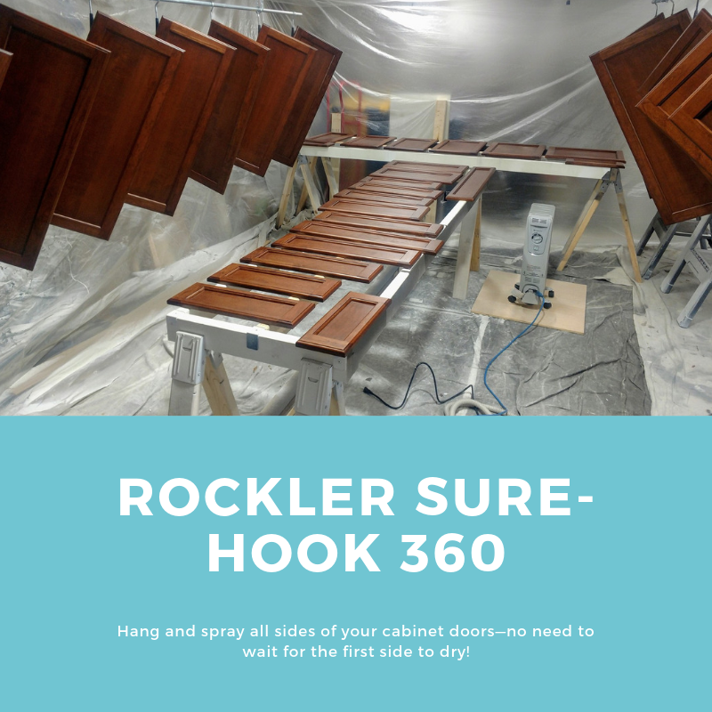 Rockler Sure Hook 360 Wood Stain Paint And Finish Techniques