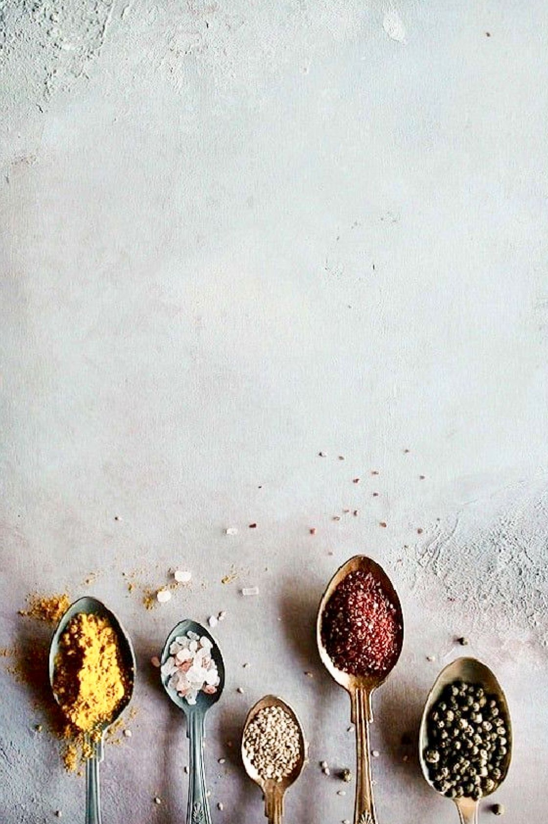By The Spoonful Food Photography Background Ingredients