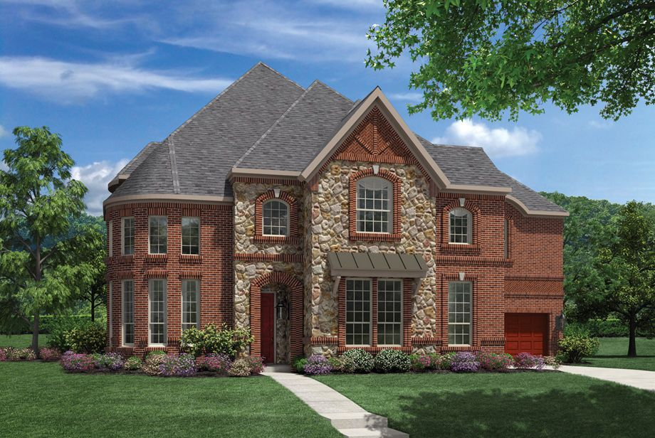 Toll brothers model home in riverstone