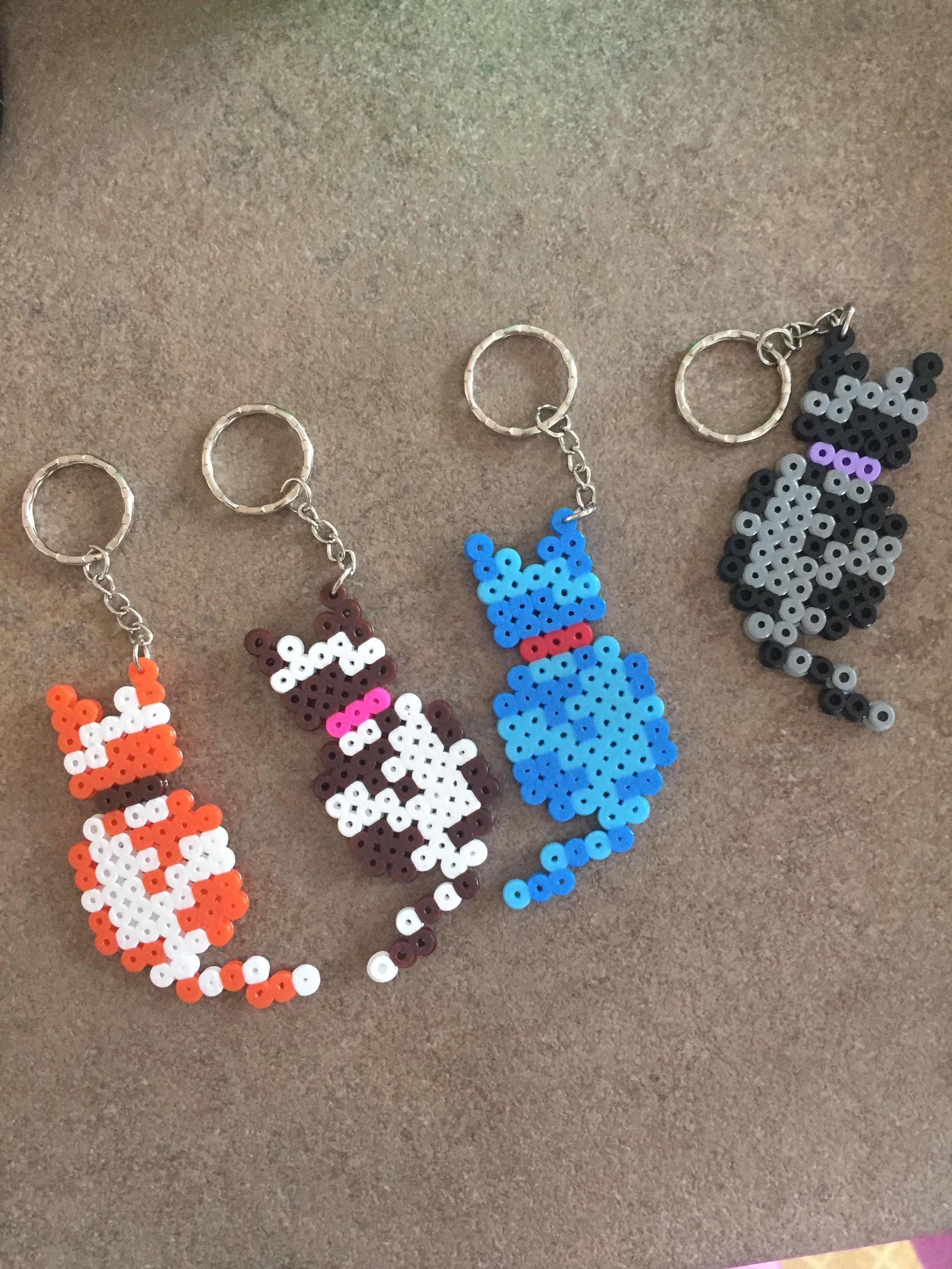 Pyssla 🐾 | Pissla my creation | Earrings, Crochet Earrings ...