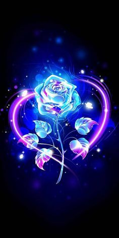 Rose Glow Love  wallpaper by AngelzInHell - 7388 - Free on ZEDGE™