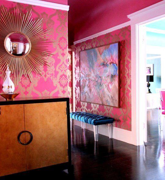 Glamorous Studio Apartment Ideas: Maria's Glamorous Fashion-Inspired Flat
