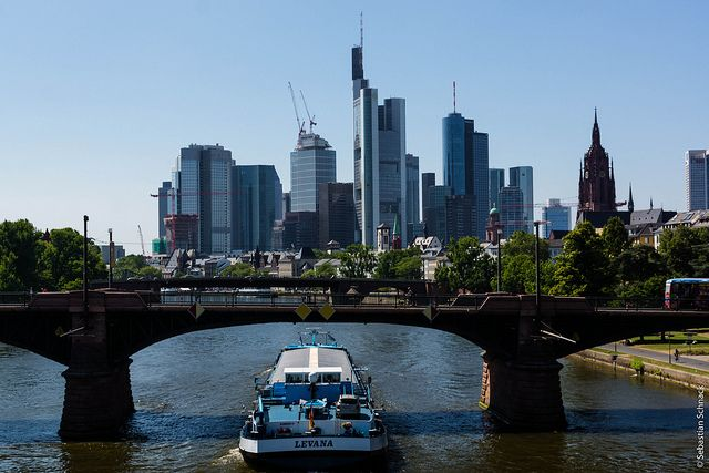 Frankfurt Reisen Deutschland Bilder