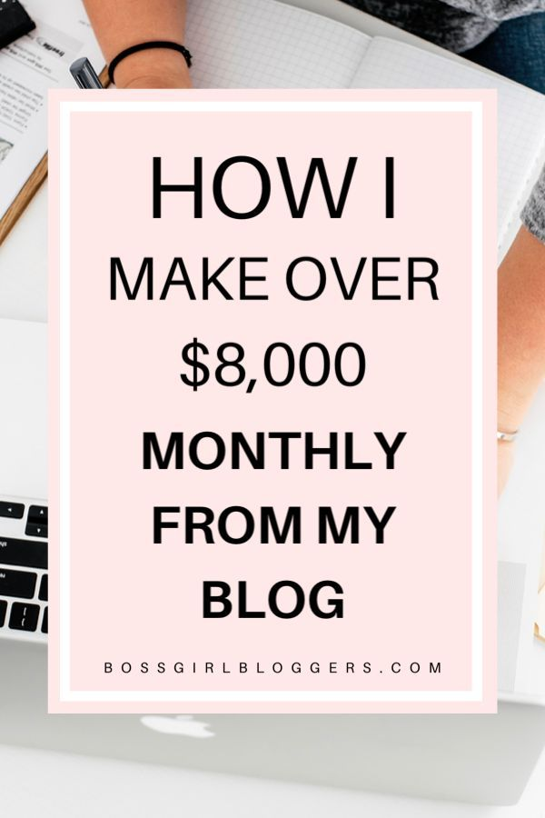 How I Tripled My Monthly Blog Income - Boss Girl B
