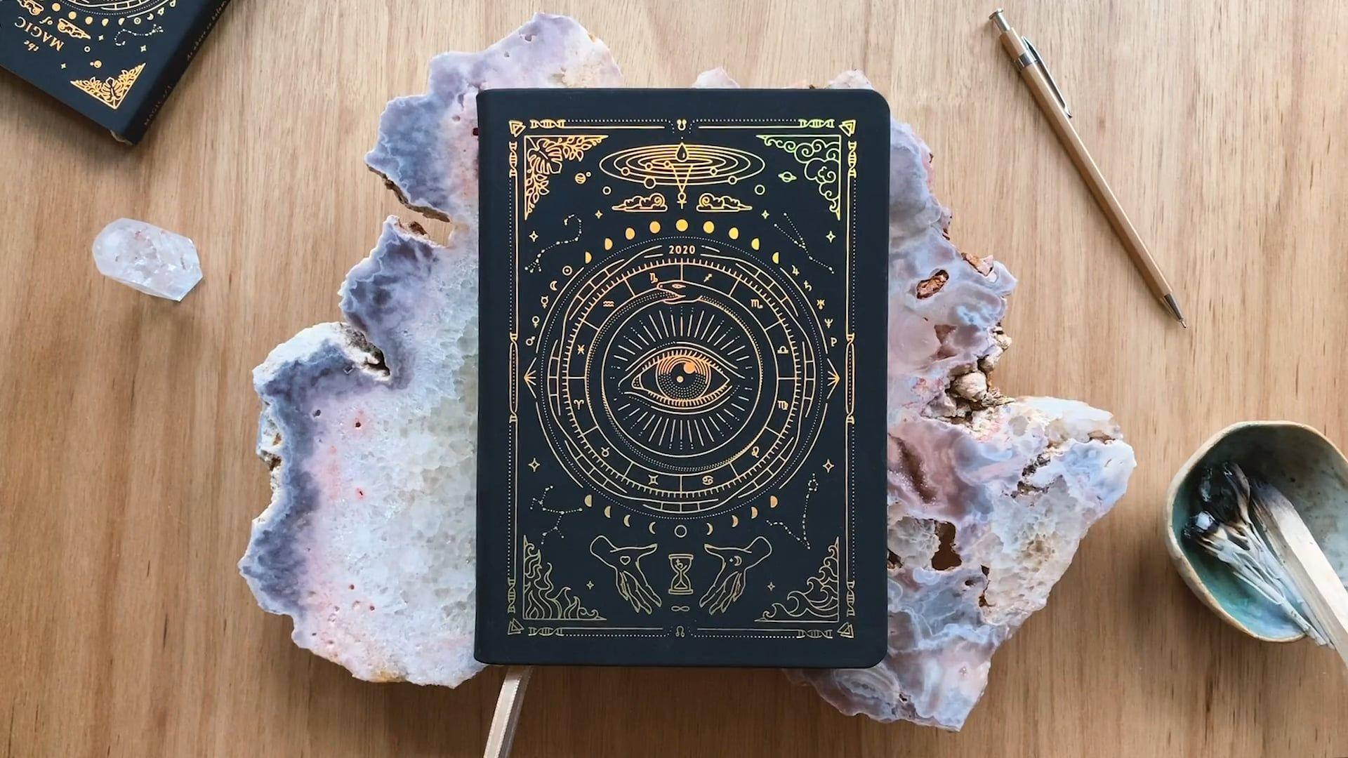 2020 Astrological Planner Astrology calendar, Moon date