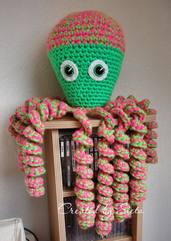Grote Inktvis Inktvisjes Pinterest Amigurumi Crochet En Octopus