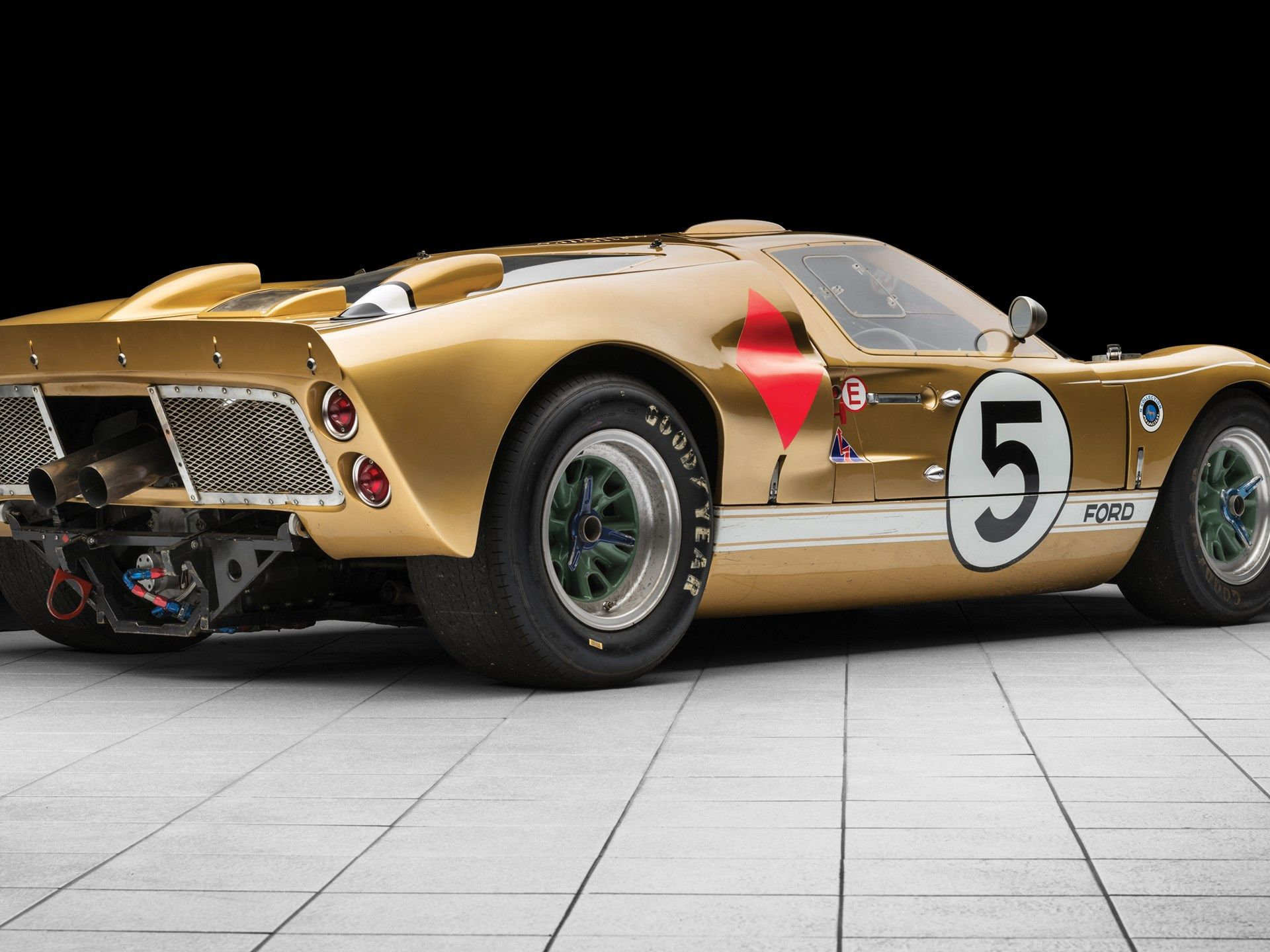 1966 Ford Gt40 Mk Ii Ford Gt40 Gt40 Ford Gt