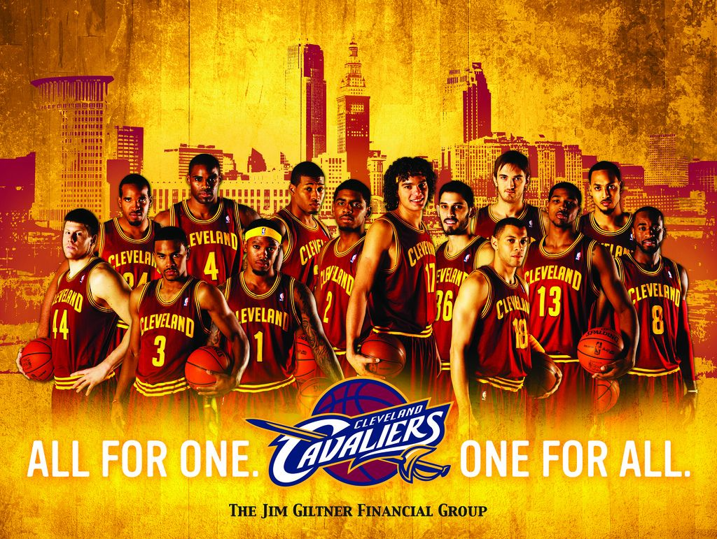 Cavs Team Poster Giveaway Tonight 2 10 12 The Q Artwork By