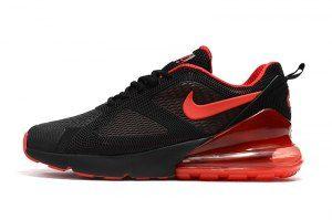 c55f132c2 Mens Sneakers Nike Air Max 180 270 KPU Black Red AH8060 016