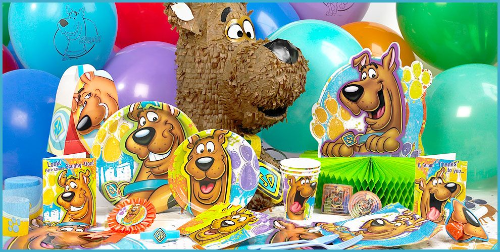 scooby doo party decorations   Scooby Doo Party Supplies