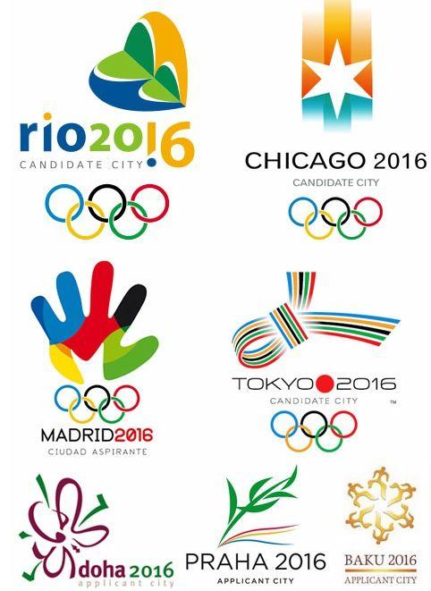 Logos De Ciudades Candidatas Juegos Olimpicos Jjoo Olympic Logo