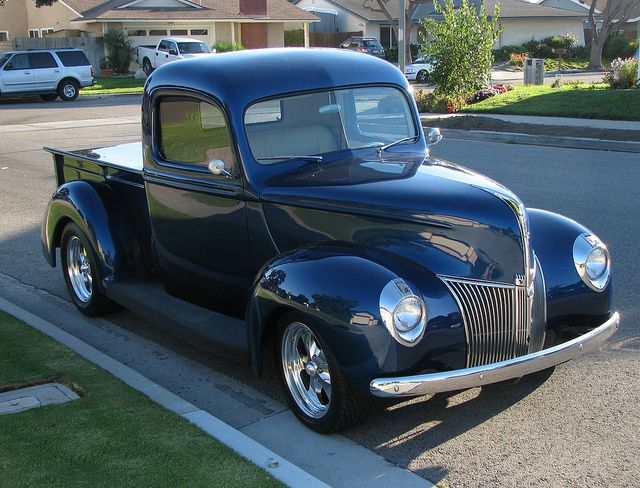 1940 Ford Pickup Truck A High Class Custom Restoration By Trail