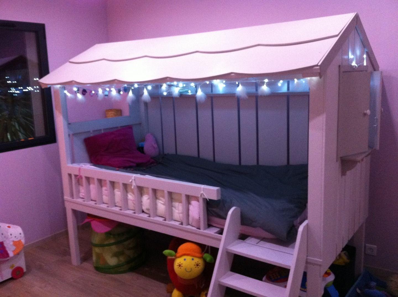 cabane enfant fille. Black Bedroom Furniture Sets. Home Design Ideas