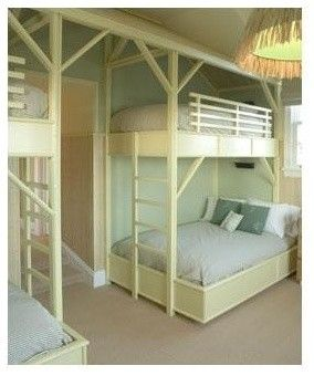 More Bunk Beds I Like How This One Has A Full Bed On The Bottom