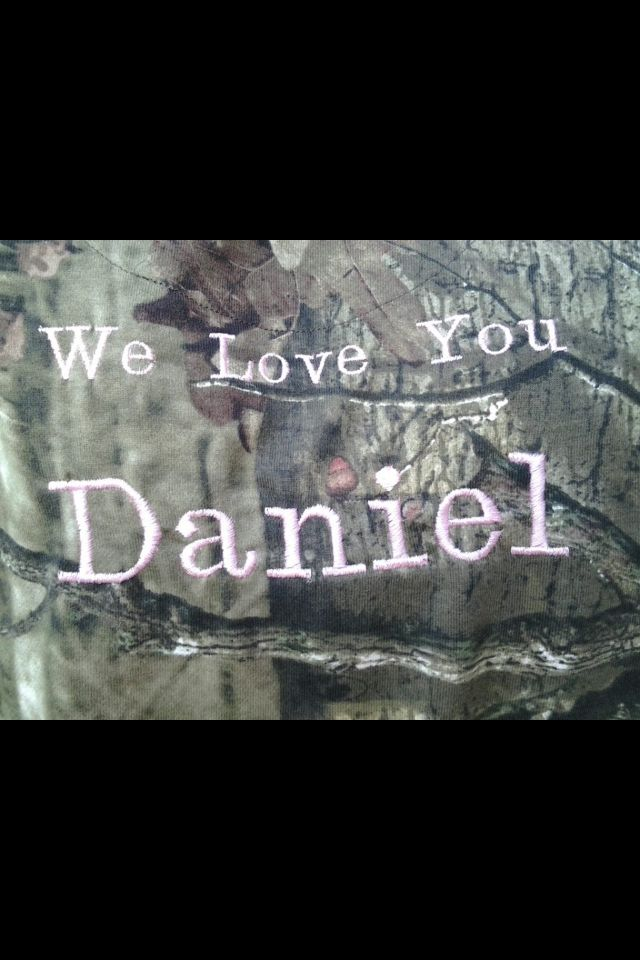 Love and miss you, Daniel.