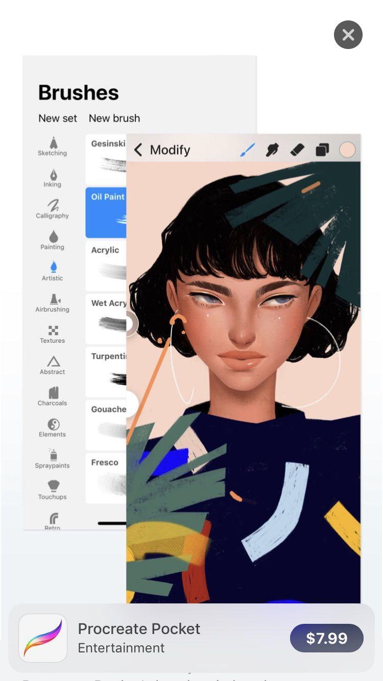Procreate app for drawing 7.99 App Store Procreate app