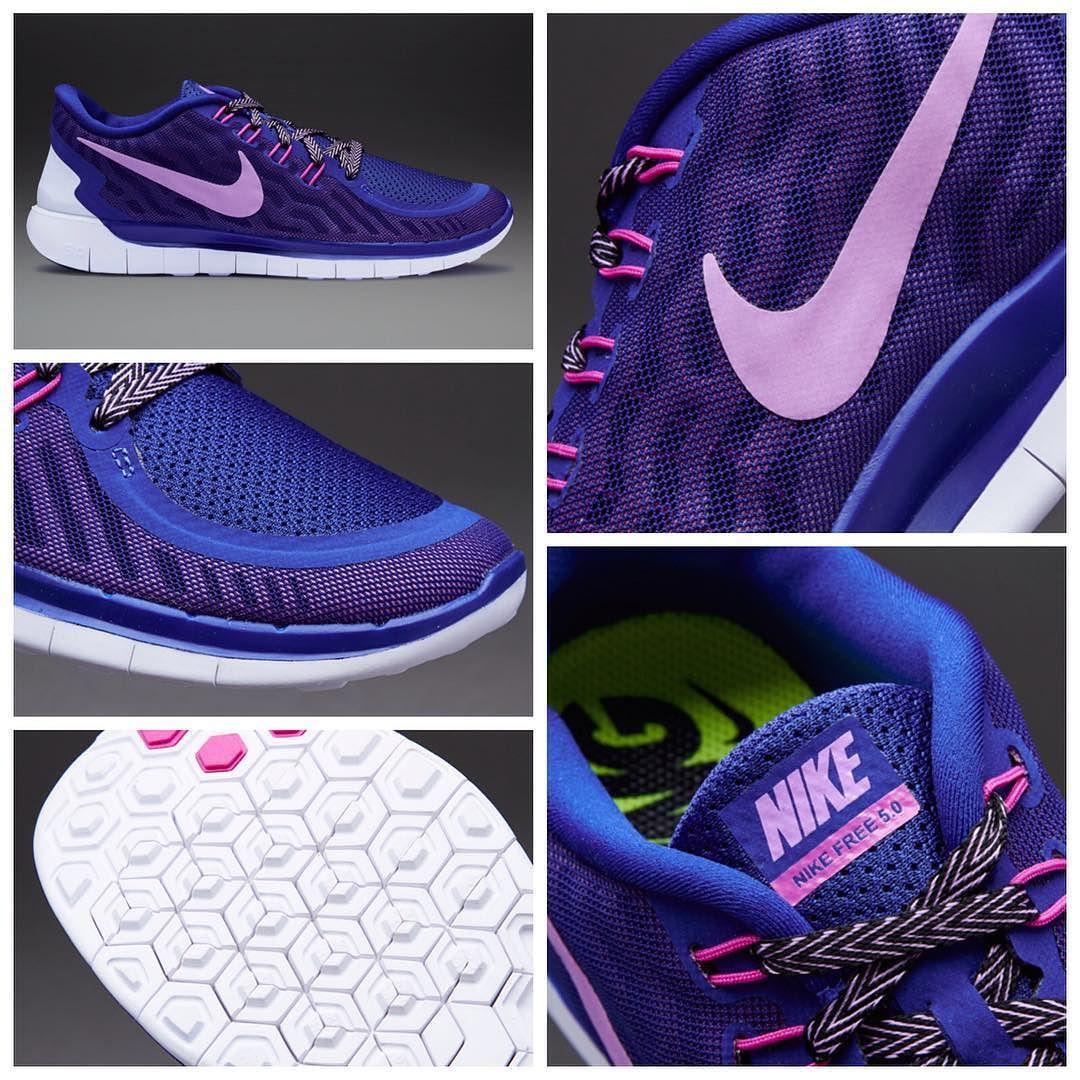 Nike Wmns Free 5.0 Deep Royal BlueFuchsia GlowFuchsia