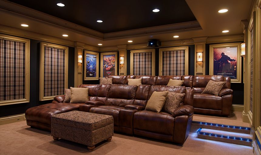 Theater Room   Traditional   Media Room   Chicago   Will Waibel