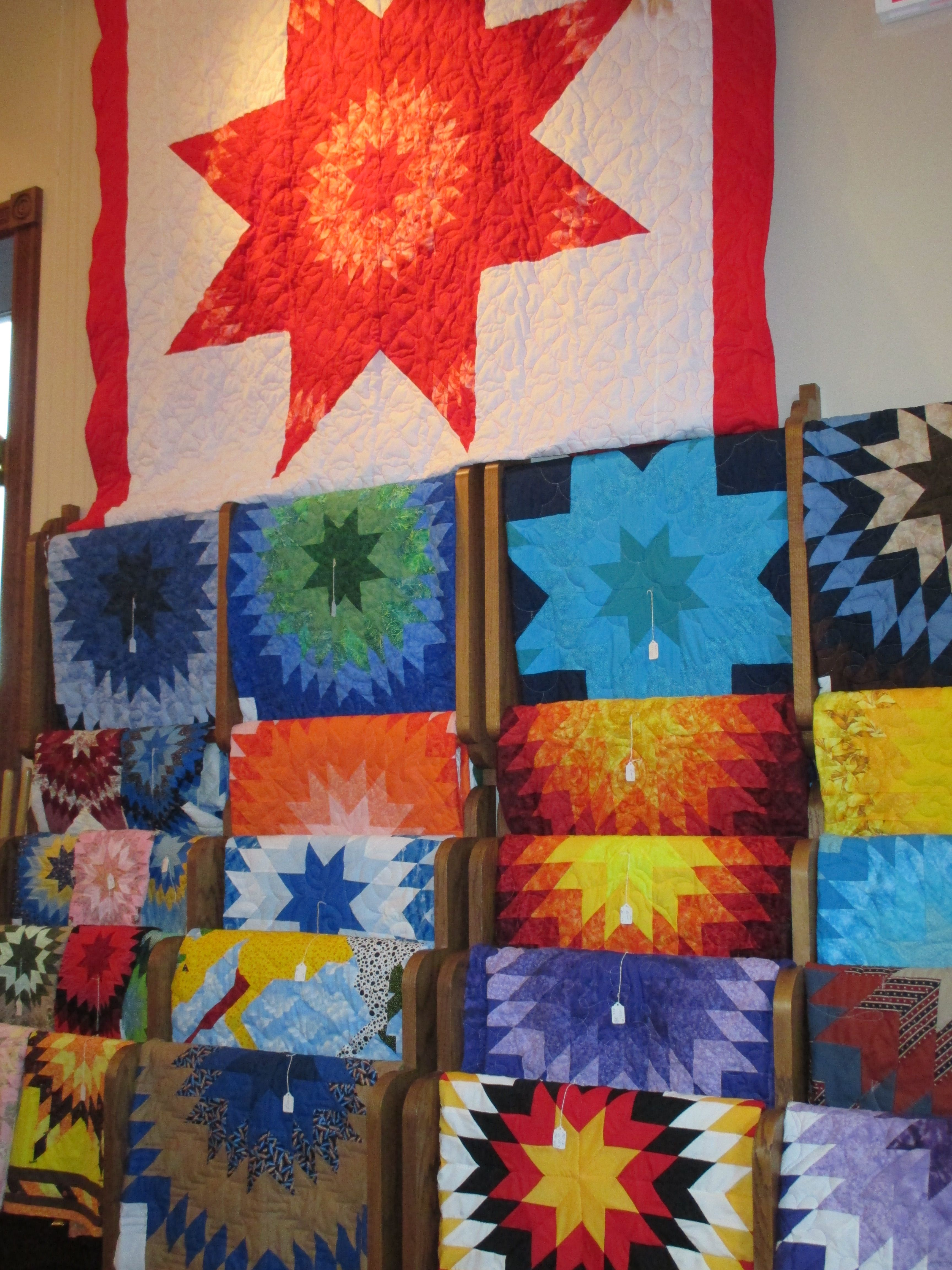 Handmade Starquilts By Local Artist Supportlocal