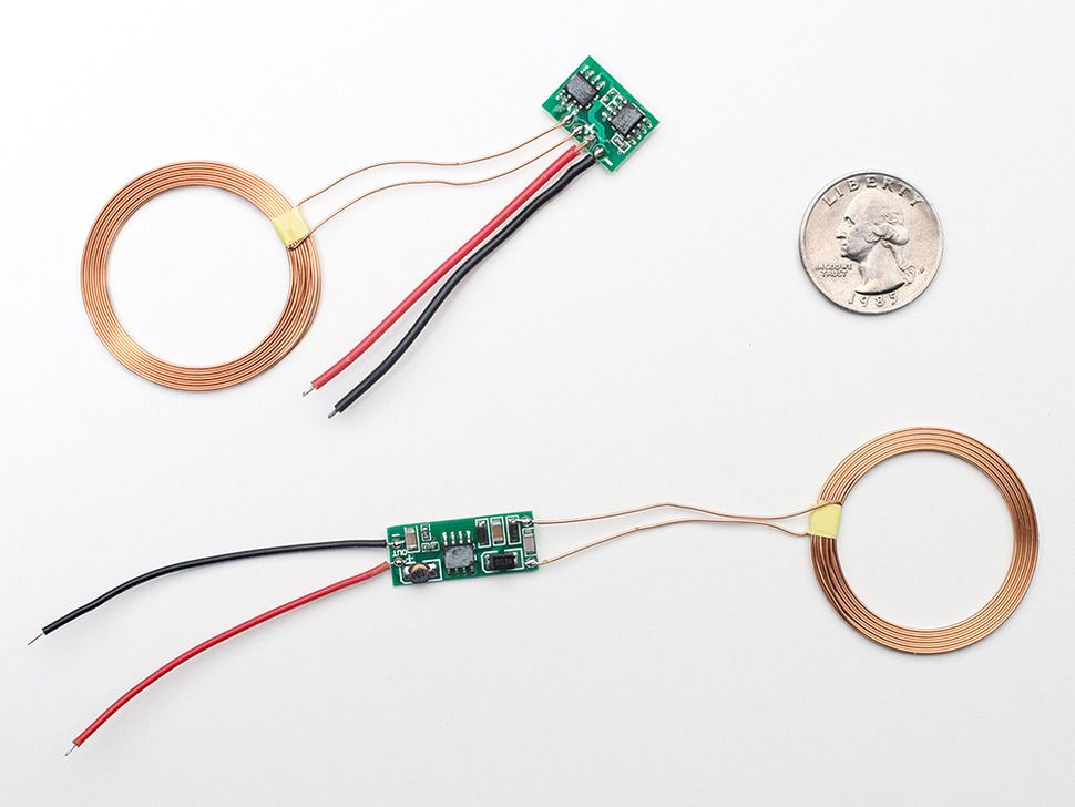Inductive Charging Set - 5V @ 500mA max | Inductive ...