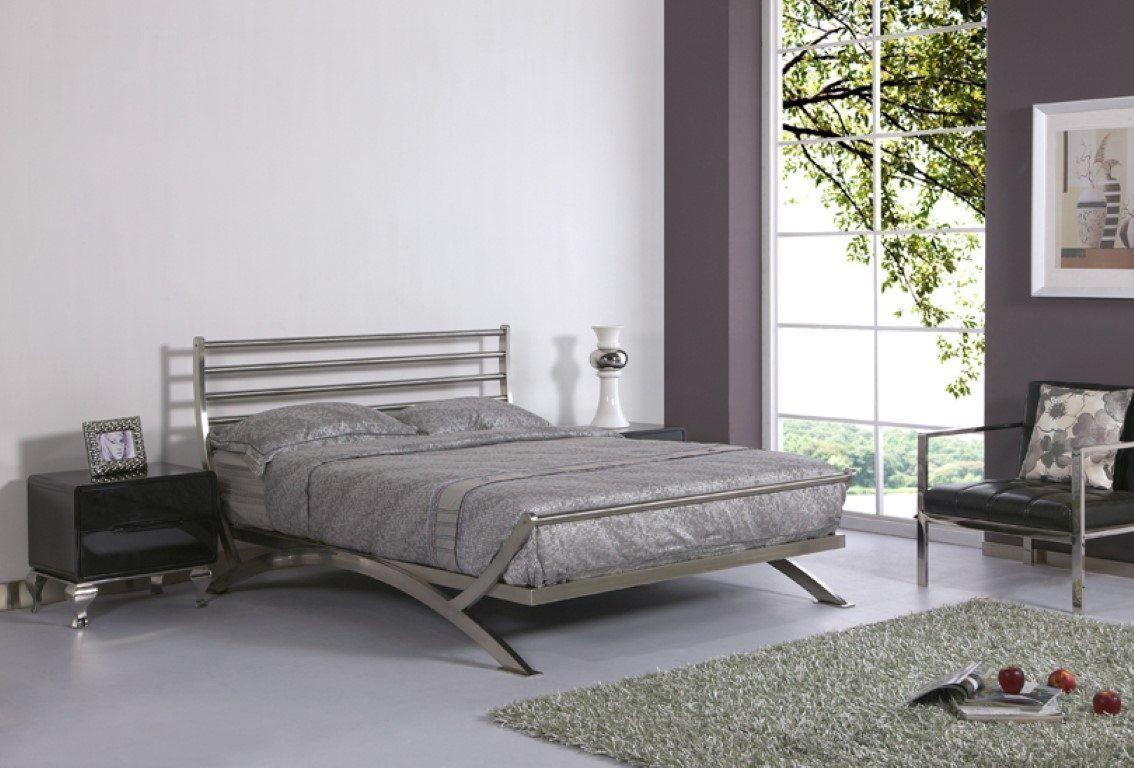 Exclusive Ideas For Steel Platform Bed In 2020 Steel Bed Design Modern Bedroom Furniture Bed Design