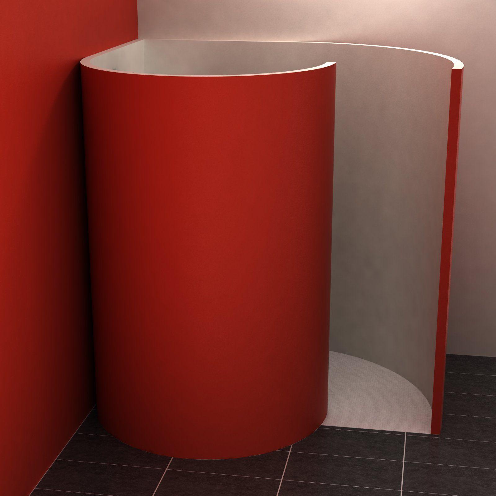 zur aufnahme der 5 cm starken wandelemente aus wedi bauplatten ist eine nute in das. Black Bedroom Furniture Sets. Home Design Ideas
