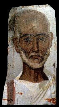 The people of ancient Egypt's Fayoum region during the Roman period were undoubtedly of mixed-racial, multi-ethnic and multi-cultural backgrounds. In looking at the funeral images, one can easily see that the vast majority of those represented were indeed mulattoes or people of mixed-racial identities.