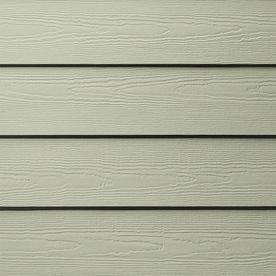James Hardie 5 25 In X 144 In Hardieplank Soft Green Cedarmill Fiber Cement Lap Siding Lowes Com Hardie Plank Siding Colors For Houses Fiber Cement Siding