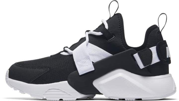 Nike Air Huarache Ciudad Bajo Zapato Negro De Mujer Talla 6 Negro Zapato 43db86