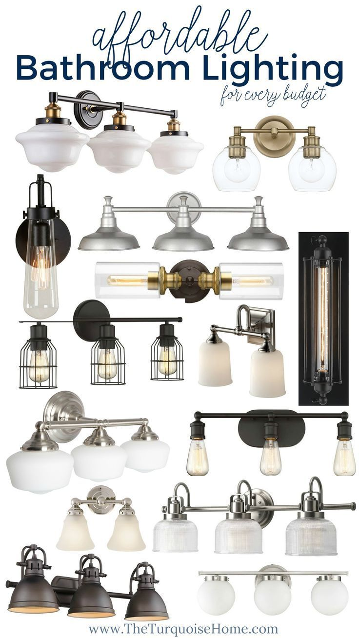 Photo of Affordable & Pretty Bathroom Light Fixtures