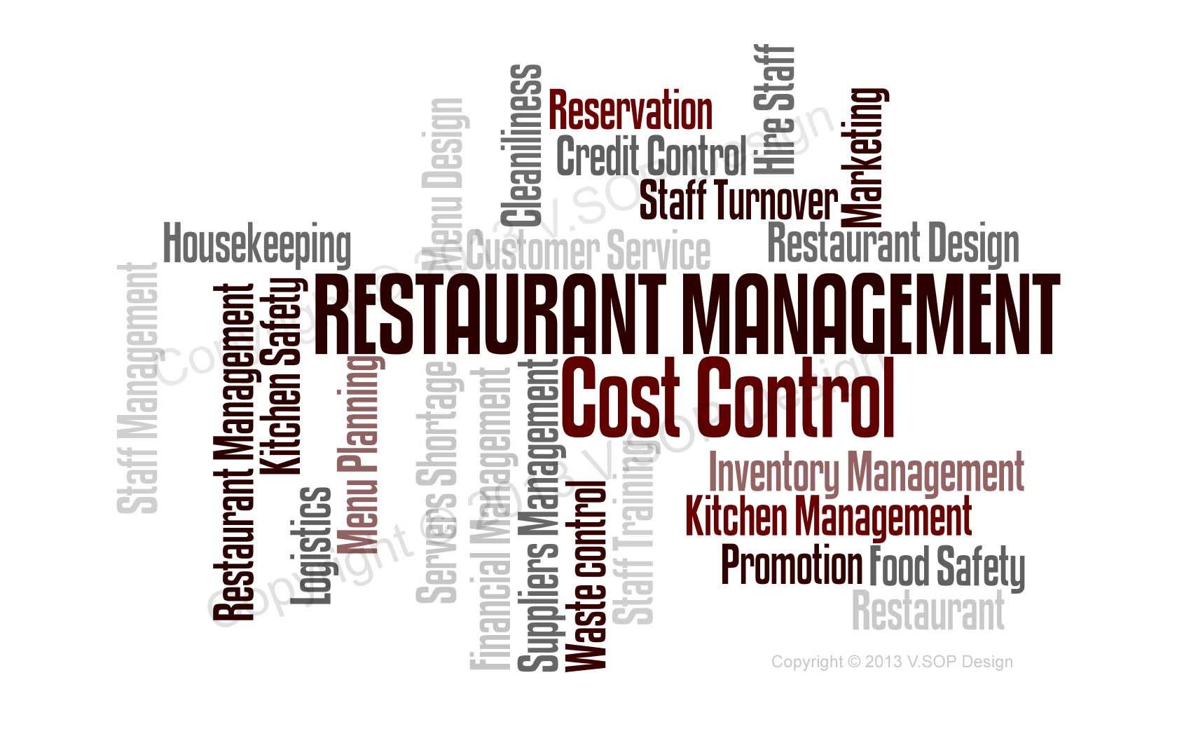 Restaurant Operation Process