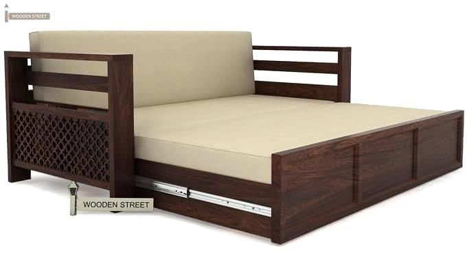 Awesome Wooden Sofa Come Bed Design All Sofas For Home In 2019 Pabps2019 Chair Design Images Pabps2019Com