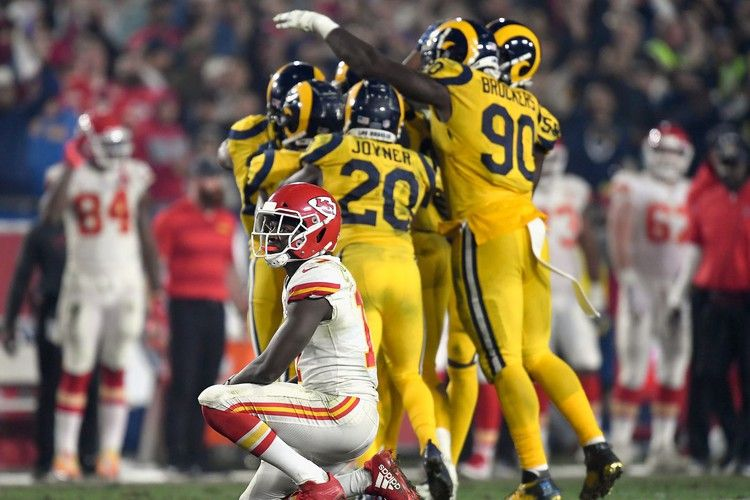 12 numbers that prove the ChiefsRams shootout was a