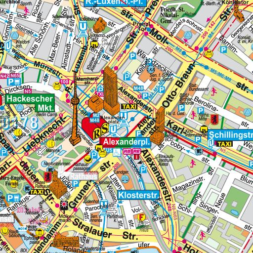 Rote Karte Berlin Mitte