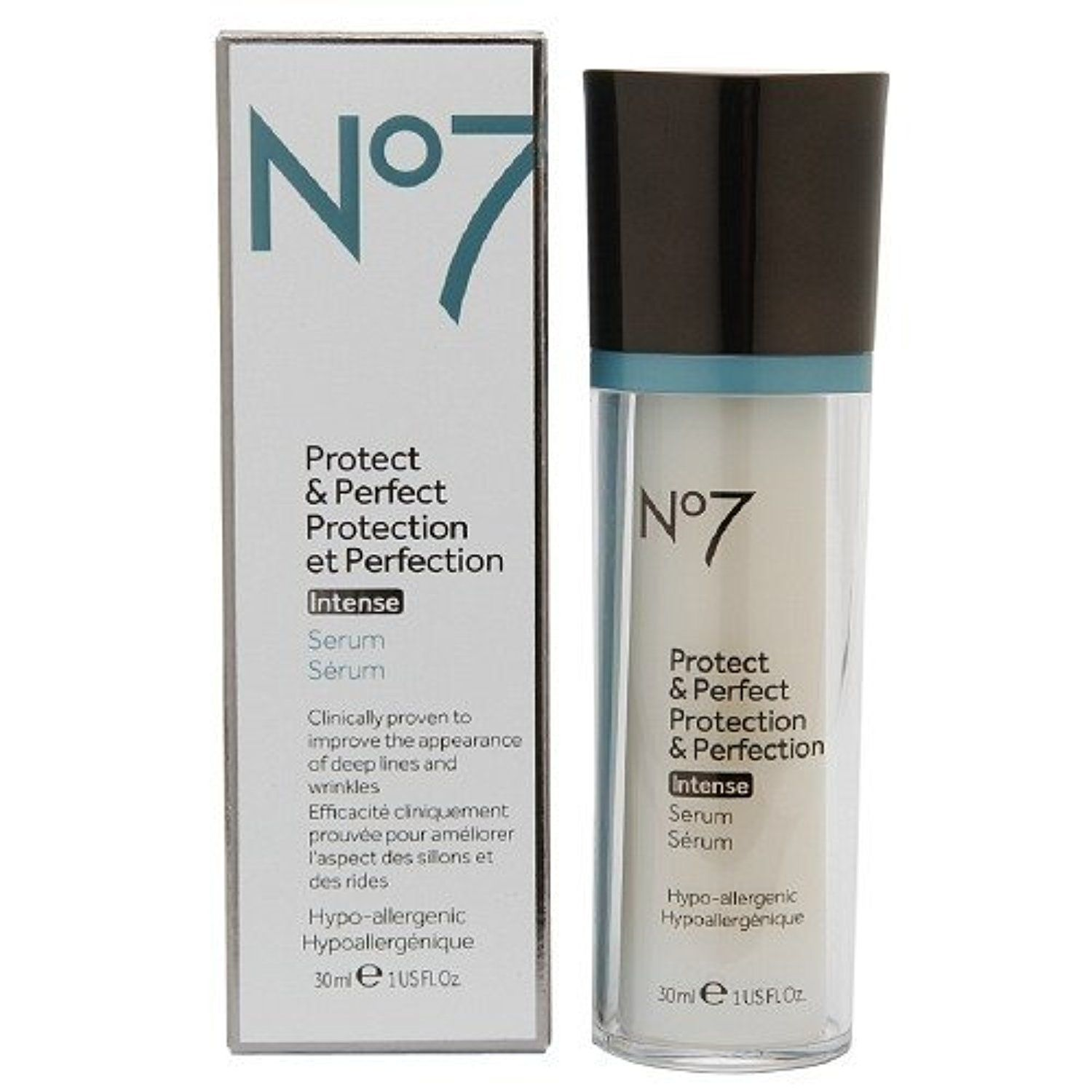 Boots No7 Protect & Perfect Protection & Perfection Intense Serum 1 fl oz (30 ml) by Boots -- Awesome products selected by Anna Churchill