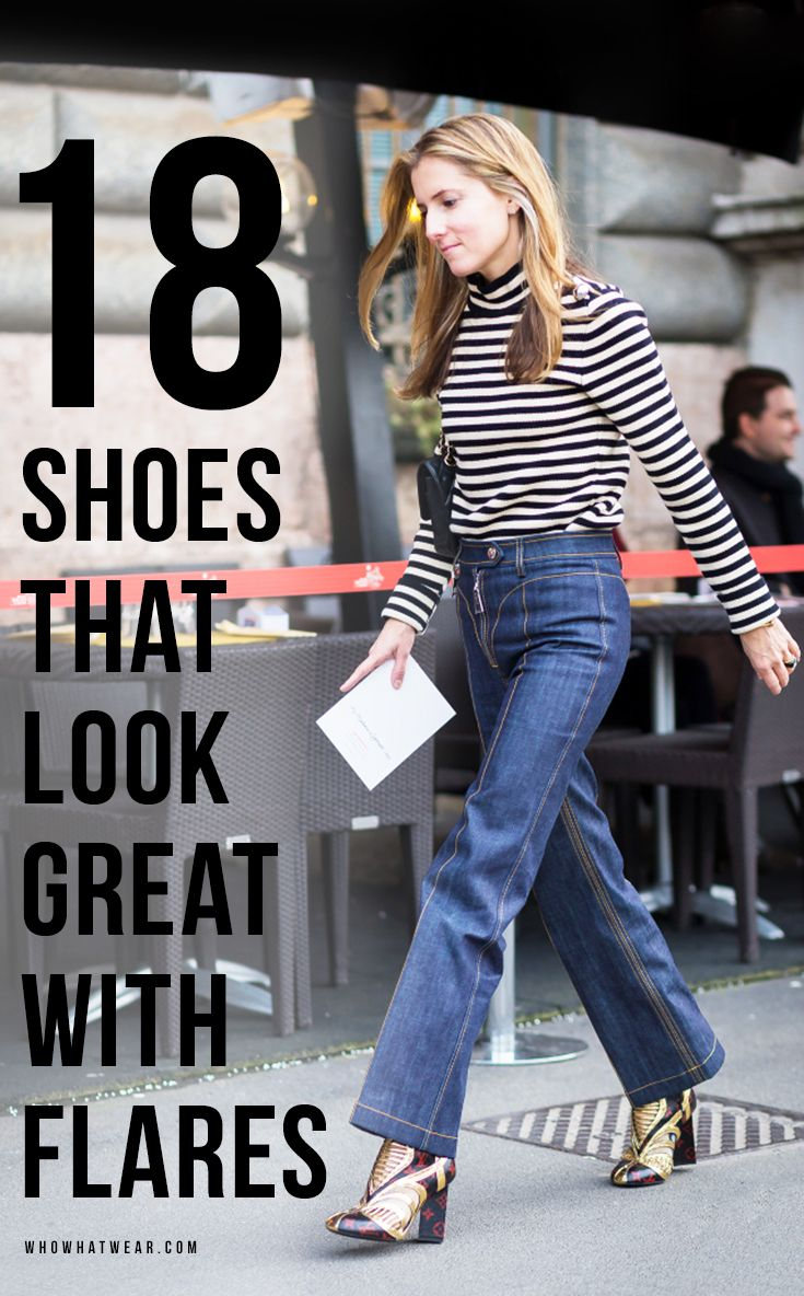 The Best Shoes to Wear With Flared Jeans | Pump, Ankle boots and Boots